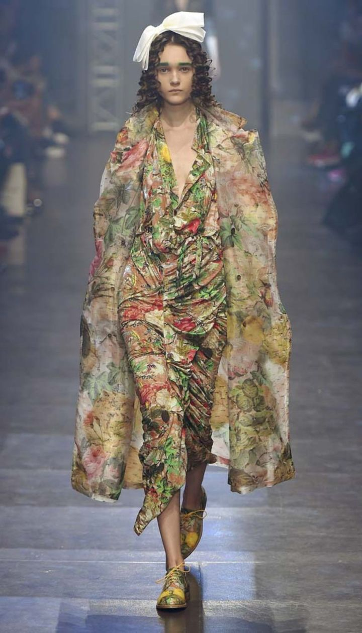 КоллекцияVivienne Westwood прет-а-порте сезона весна-лето 2016 @ East News