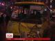 У центрі столиці елітний легковик протаранив пасажирський автобус