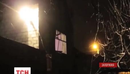 В Запорожье из гранатомета обстреляли жилой дом