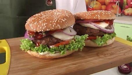 Рецепт полезного бургера от Руслана Сеничкина
