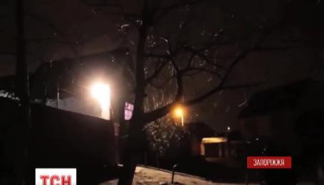 В Запорожье из гранатомета обстреляли частный жилой дом