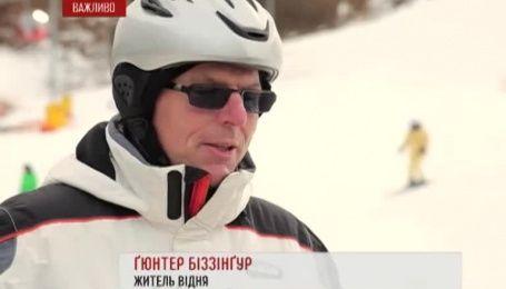 Горнолыжный отдых в Австрии стал более доступным для украинцев