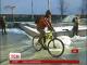 Як столичні байкери велосипедом на роботу добирались