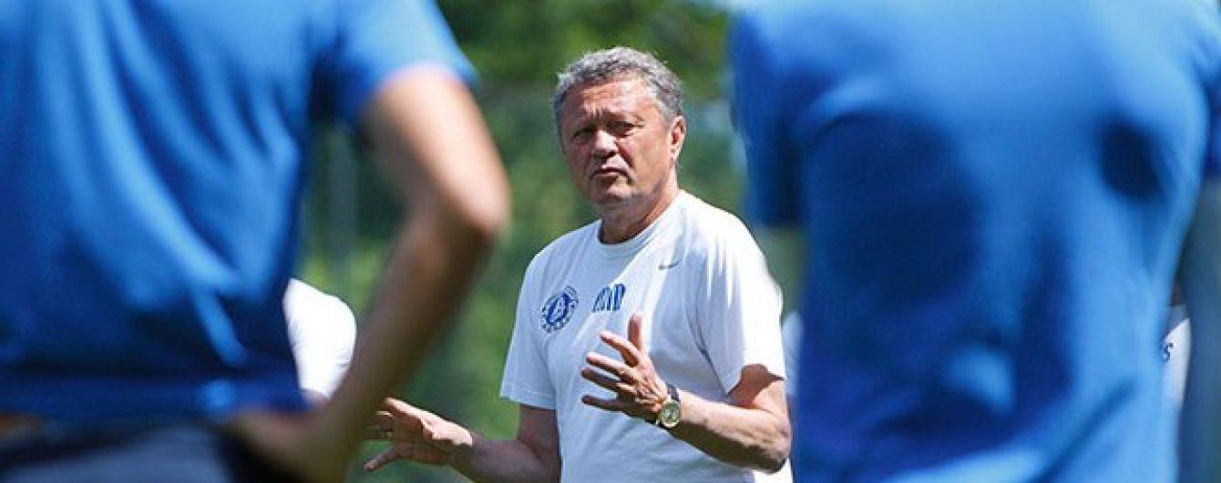 Маркевич визначився зі складом футболістів на заключний збір у Туреччині