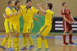 Збірна України битиметься зі словаками за вихід на футзальний ЧС-2016