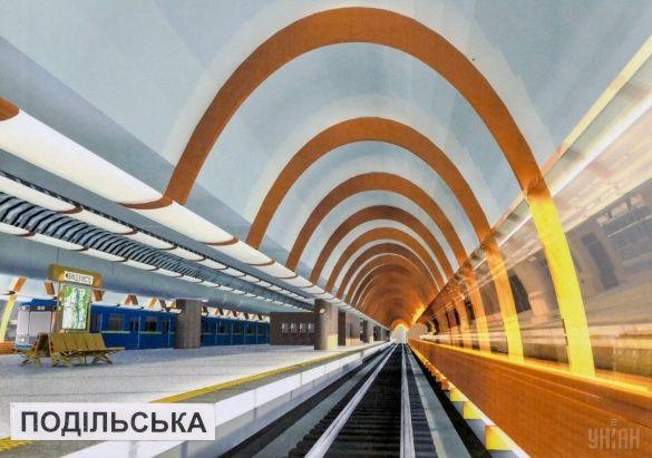 метро, метрополітен, метро на Троєщину