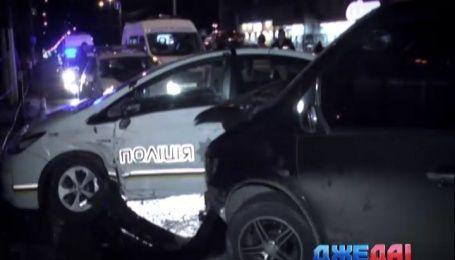 Патрульный Prius попал в очередную аварию