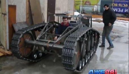 Псевдо-танк смастерили российские изобретатели