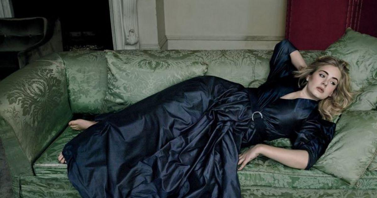 Адель прикрасила сторінки  Vogue @ vogue.com