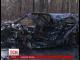 Під Житомиром внаслідок ДТП згорів легковик разом з водієм