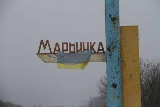 """Оккупанты обстреляли контрольный пункт """"Марьинка"""""""