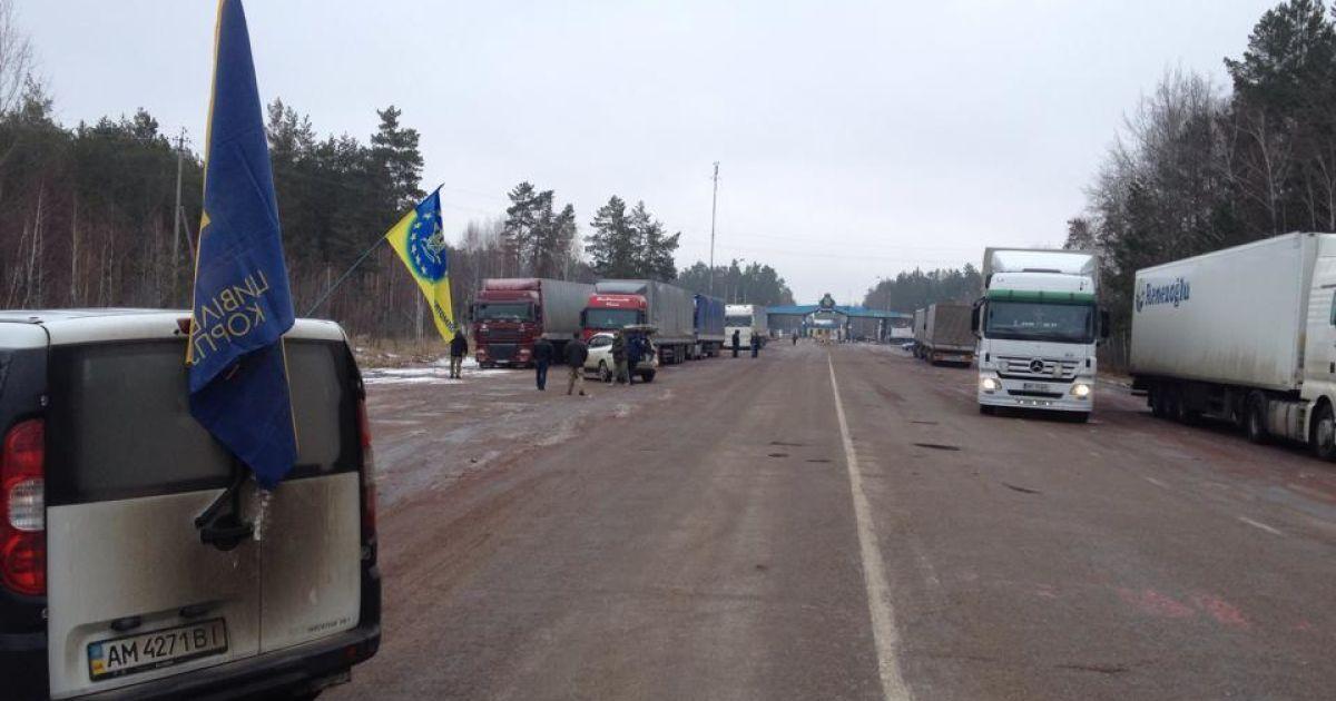 Еще одна область Украины присоединилась к блокированию российских фур