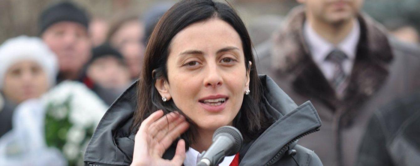 Деканоідзе розсекретила подробиці гучного затримання голови черкаської поліції