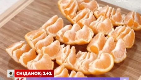 Советы суперхозяйки. Как легко почистить мандарины