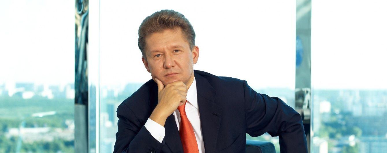 """Руководитель """"Газпрома"""" Миллер попал в ДТП в Москве"""