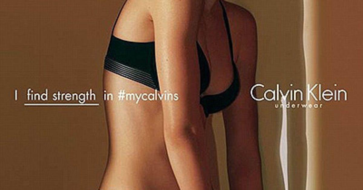 Кендалл Дженнер знялася у пікантному фотосеті @ Calvin Klein