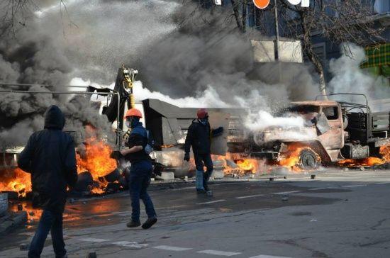 """Справи Майдану: колишньому """"беркутівцю"""", який силою затримав активіста, повідомили про підозру"""