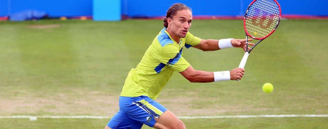 Українець Долгополов зіграє з легендарним Надалем за півфінал турніру в Бразилії