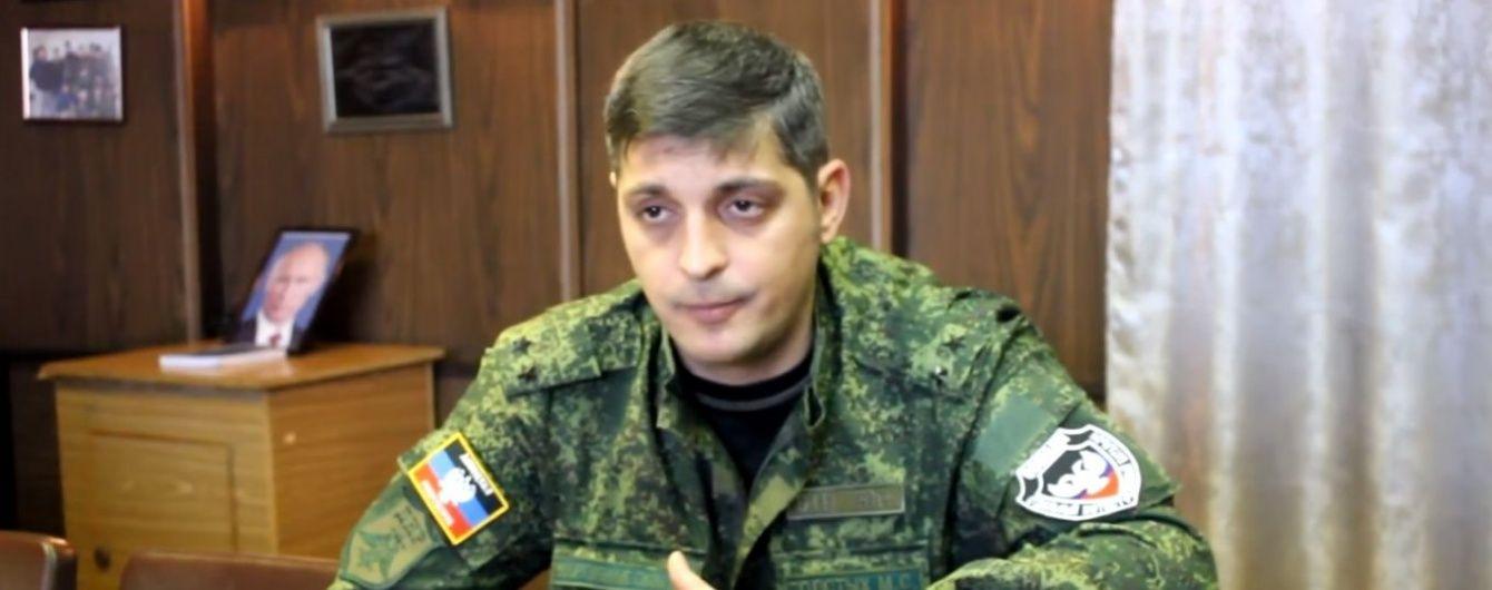 """Бойовик """"Гіві"""" звинуватив екс-командира """"Востока"""" в співпраці з Україною"""