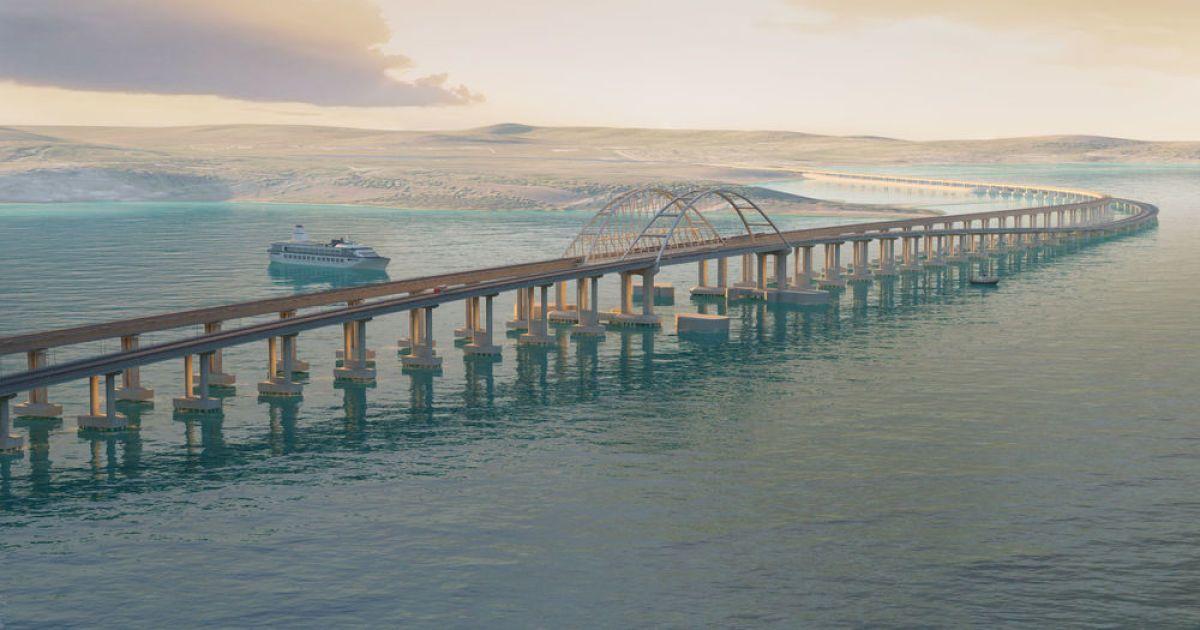 Оккупанты достроили железнодорожную часть Крымского моста