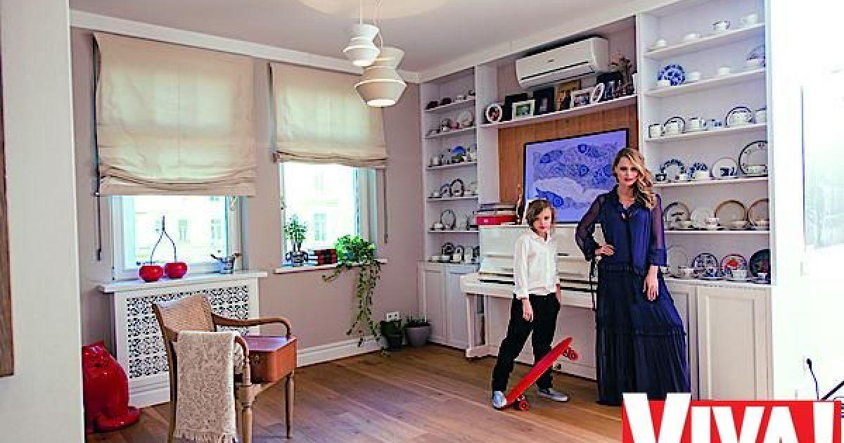Фреймут показала свою квартиру на Подолі @ viva.ua