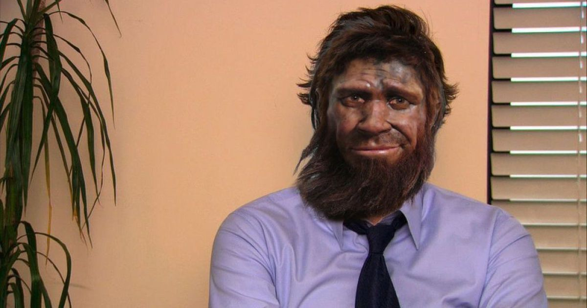 Користувачі Інтернету осучаснили неандертальця з бельгійського музею @ Mashable