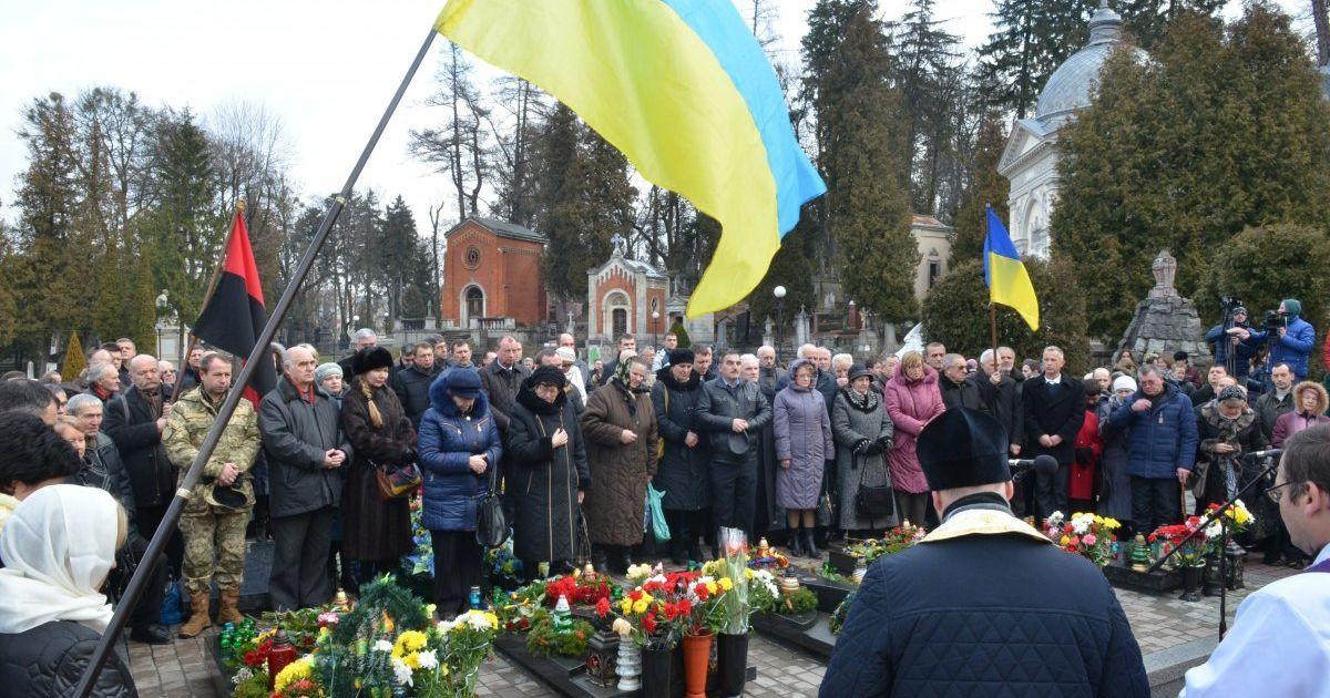 Вшанування Героїв Небесної Сотні у Львові @ УНІАН