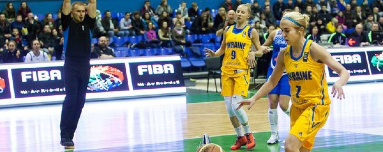 Жіноча збірна України здолала у Києві чемпіонок Європи