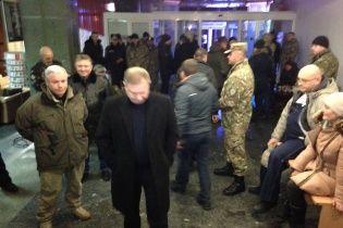 """Офіційні особи та візитери залишили готель """"Козацький"""""""