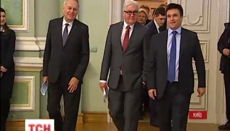 В Киеве зарубежные министры МИД встречаются с властью и коалицией