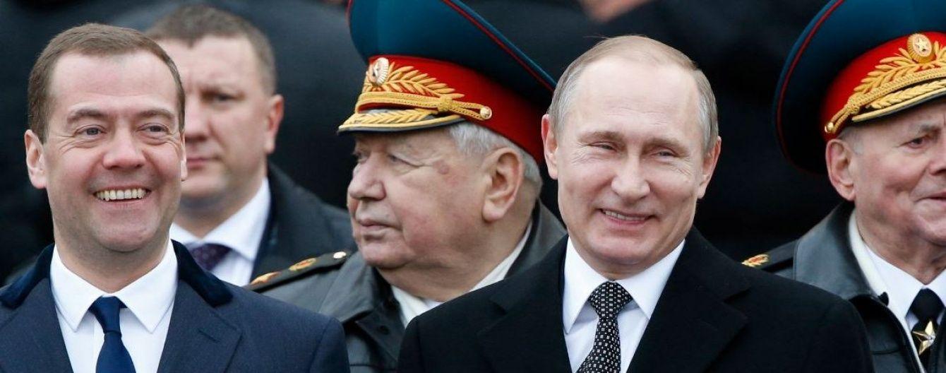 Путін захотів знову бачити Медведєва прем'єром
