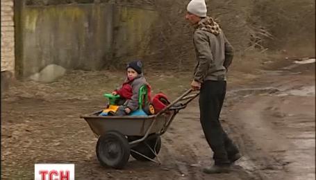 Мешканці села Яблунев на Київщини протестують проти стихійного скотомогильника