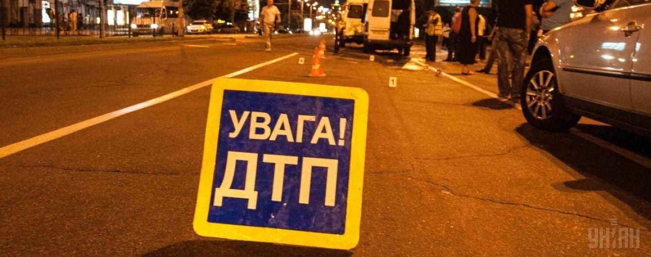 У Києві на Лобановського сталася потрійна ДТП
