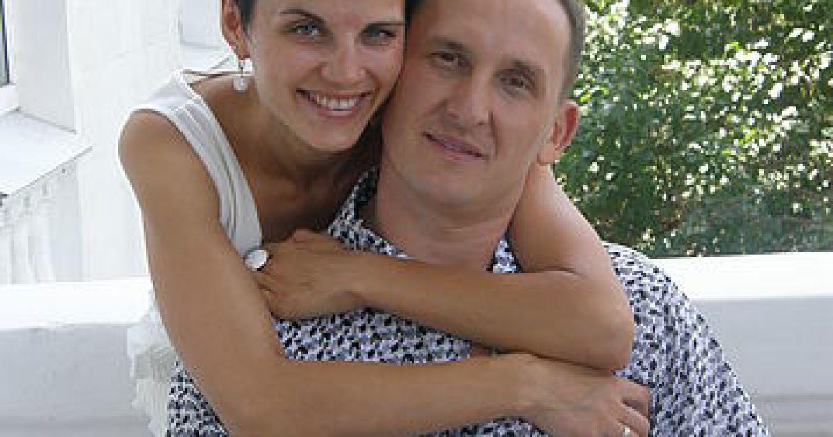 Шевцова із чоловіком