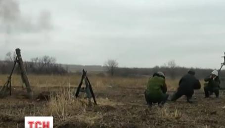 Бойовики активно стріляють із мінометів на Донецькому та Маріупольському напрямках