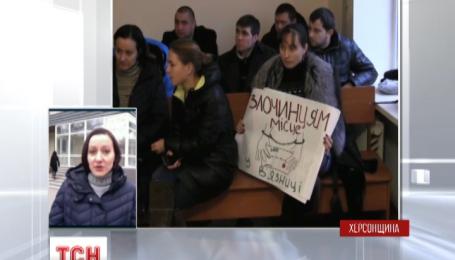 В Херсоне сегодня состоится первое слушание по существу по делу псевдо-волонтера Золотаренко