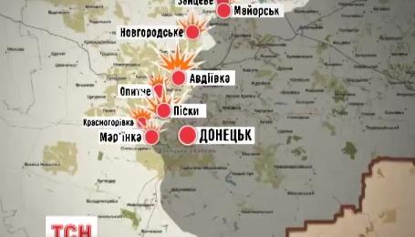 Боевики снизили активность обстрелов на Донбассе