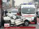 Зранку на Одеській трасі неподалік Києва легковик зіштовхнувся з фурою