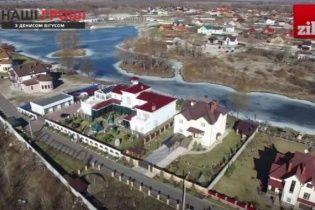 Заступник голови Нацполіції збудував триповерховий будинок під Києвом