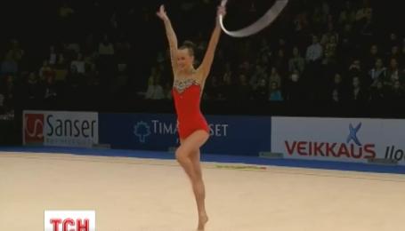 Анна Ризатдинова получила две золотые медали на Кубке мира по художественной гимнастике