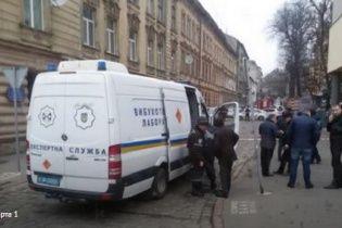 Во Львове у входа в СБУ нашли взрывчатку