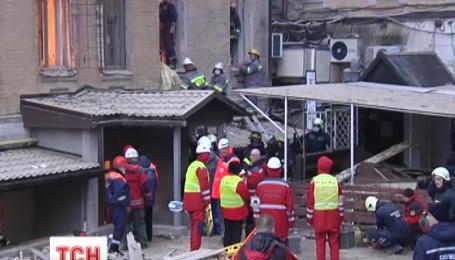В обломках дома, обрушившегося в центре столицы на прошлой неделе, погиб 23-летний Юрий Хименець