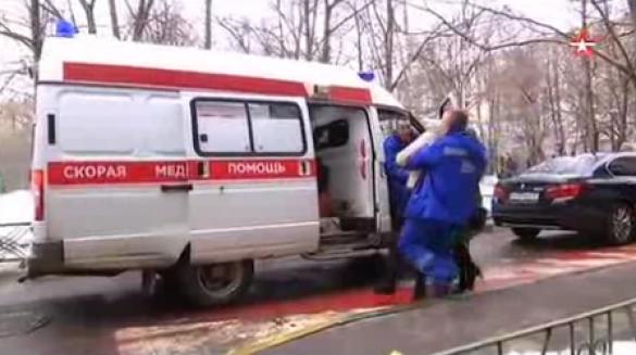 Мати вбитої дитини у Москвы