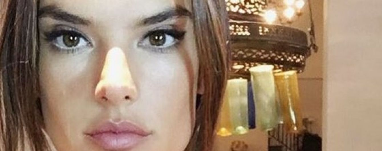 Шампанское и массаж: как готовилась к вечеринке Vanity Fair Алессандра Амбросио