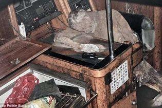 У Тихому океані знайшли яхту з тілом чоловіка, який перетворився на мумію