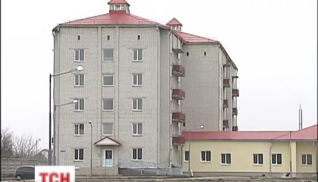 Жители Яготина Киевской области восстали против того, чтобы в их городе жили беженцы