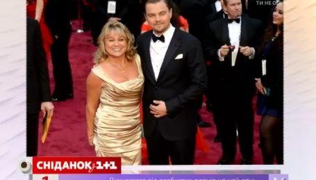 Леонардо Ді Капріо святкував отримання «Оскара» зі своєю мамою