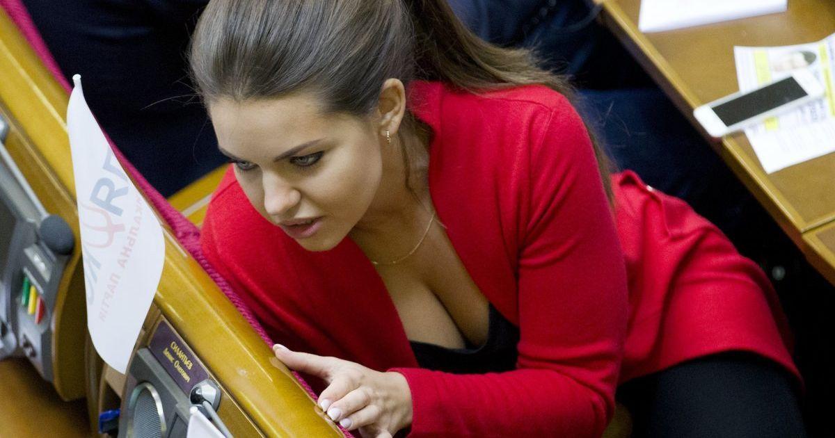 Альона Кошелєва стала народним депутатом у 24 роки. @ УНІАН