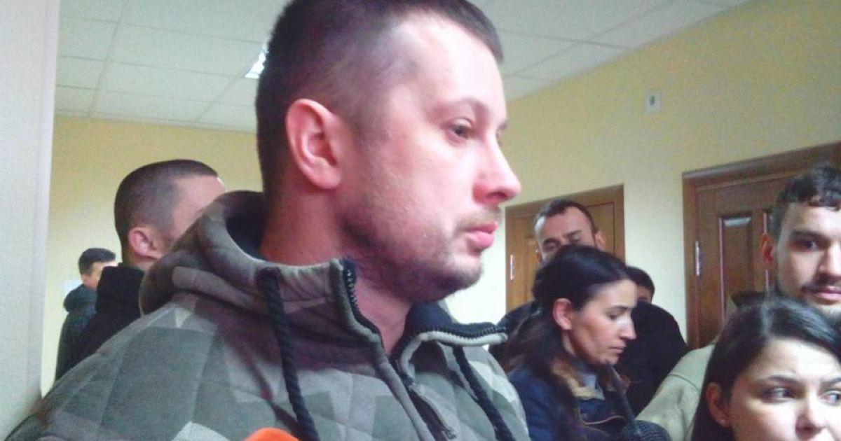 """У Шевченківському суді розглядають справу лідера """"Азов-Крим"""" Станіслава Краснова та його дівчини"""