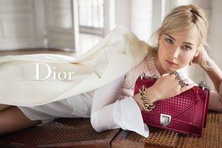 Дженнифер Лоуренс в рекламной кампании новых сумок от Dior